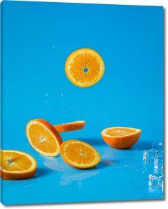 Разрезанный апельсин