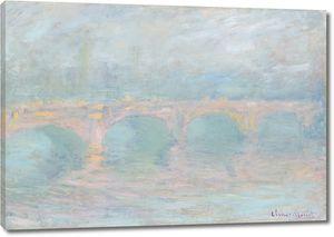 Клод Моне. Мост Ватерлоо, Лондон, на закате солнца