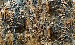 Резьба. Старинный китайский город