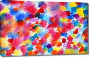 Абстрактная красочная акварель