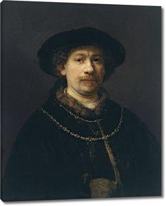 Рембрандт. Автопортрет (1642-1643