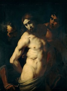 Даниэле Креспи. Бичевание Христа