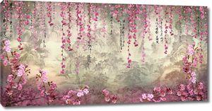 Японская фреска «Шинуазри»