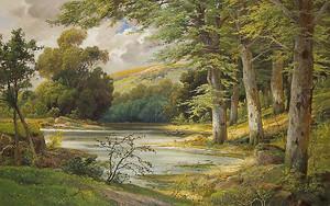 Аллойс  Арнегер. Пейзаж