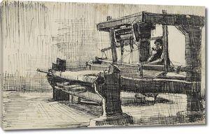 Ван Гог. Ткачиха, вид слева