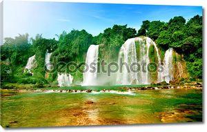 Водопады во Вьетнаме