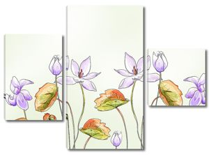 Мелкие цветы лотоса