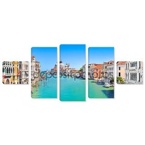 Канал Гранде и базилика ди Санта-Мария делла Салюте, Венеция, Италия