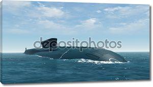 Подводные лодки России Borei крупным планом