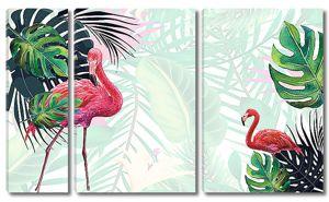 Фламинго в углах