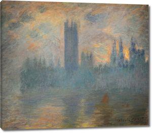 Моне Клод. Парламент, Вестминстер, 1900-01