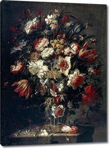 Хуан де Арельяно. Цветы в вазе 4