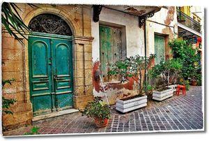 Старые улочки Крита