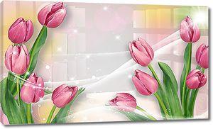 Тюльпаны в дымке