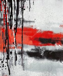 абстрактное искусство живописи капает