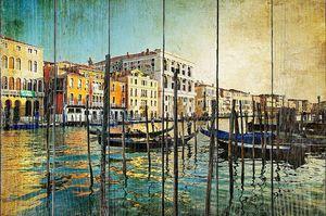 Фреска с набережной Венеции