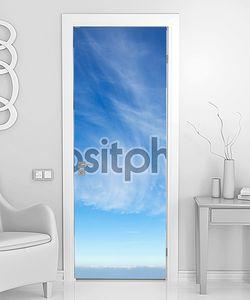 Красивая перистые облака
