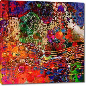 Искусство фон абстрактный Красочная радуга модель