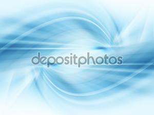 Абстрактный голубой фон
