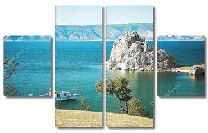 Горы Бурхан озеро Байкал