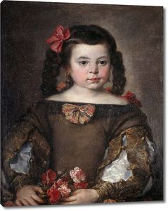 Антолинес Клаудио Хосе. Портрет девочки