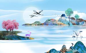 Раскрашенные  острова