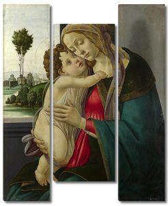 Боттичелли Сандро. Мадонна с Младенцем