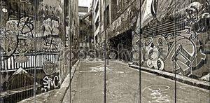 High Contrast Graffiti