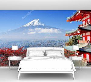 Гора Фудзи осенью