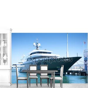 Супер яхты, пришвартованных в Гибралтаре