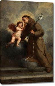 Крайер Каспар. Святой Антоний Падуанский с Младенцем Христом
