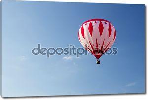 Красочные воздушные шары запуска на ежегодные дни страны metamora и горячим воздухом воздушный шар фестиваль.