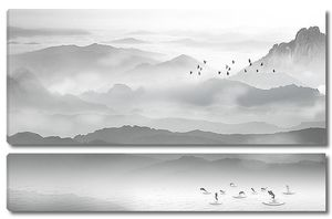 Рыбки в горном озере