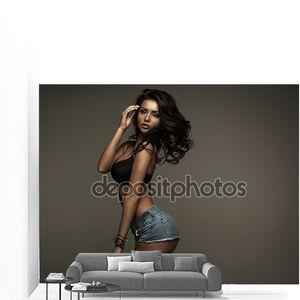 Сексуальная черная женщина