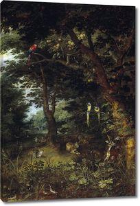 Ян Брейгель (Младший). Рай