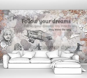 Коллаж - Следуй за мечтой