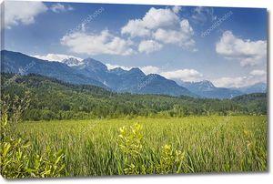 Горный ландшафт Каринтии