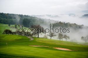 Осень на гольф-поле