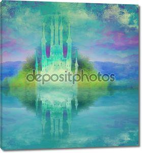Абстрактный сказочный замок