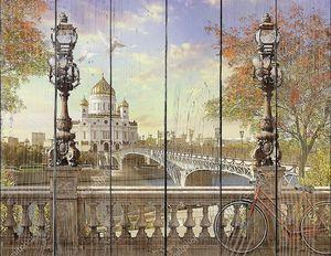 Храм Христа Спасителя, Панорама.