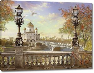 Храм Христа Спасителя, Панорама