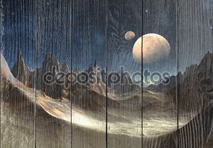 Чужеродные Планета с Лун