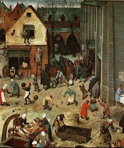 Брейгель Битва карнавала и поста. (2)