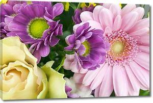 цветочный весенний фон