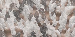 Pletora-множество бежевых  пальмовых листьев