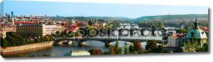 Прага на закате