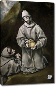 Эль Греко. Святой Франциск в размышлении