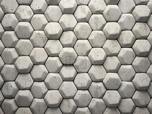 Абстрактный узор шестигранники каменных частей иллюстрации