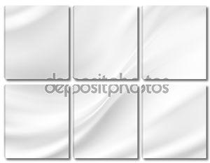 белый шелковый фон