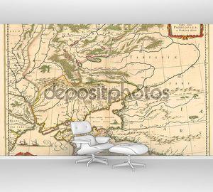 Старый Крым карта